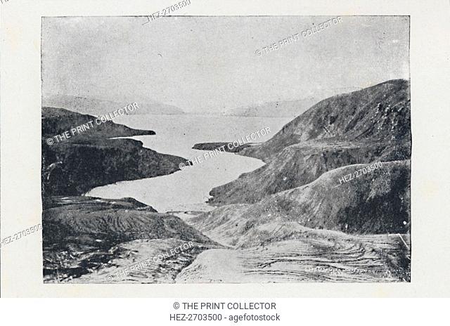 'Te Wairoa After The Eruption of Tarawera', 1923. Creator: Unknown