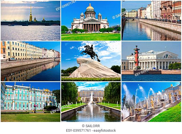 Collection of beautiful photos in Saint Petersburg, Russia