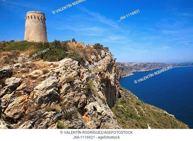 Torre de Cap d'Or, Teulada, Alicante province, Comunidad Valenciana, Spain