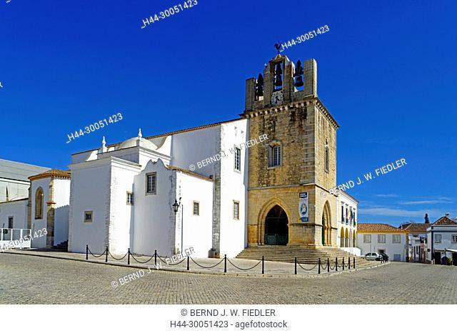 Sé Catedral de Faro, Igreja de Santa Maria, Faro Portugal