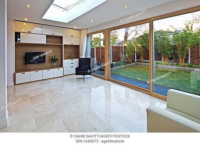 Living room of luxury private dwelling, Blackrock, Co Dublin