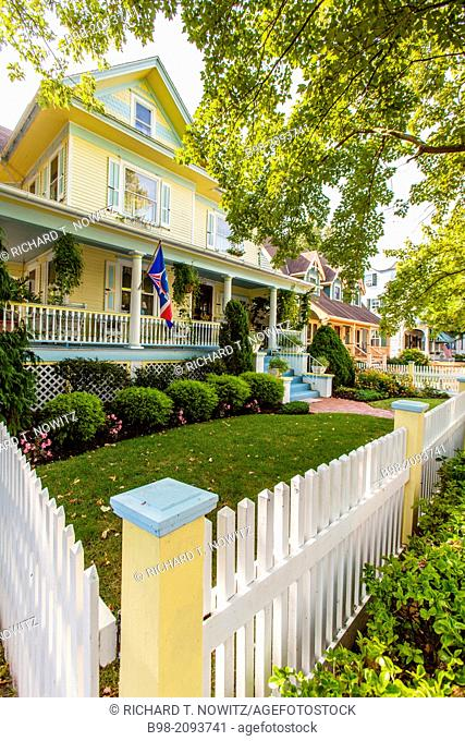 Cape May is America's first seaside resort. It has the largest collection of Victorian Architecture in the United States