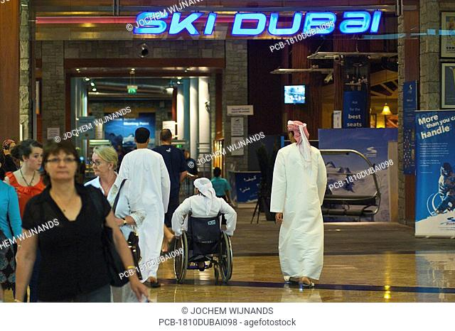 Dubai, Mall of the Emirates, ski dubai