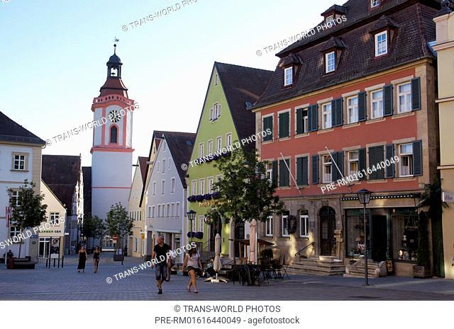 Spitalkirche zum Heiligen Geist, Weißenburg in Bayern, Weißenburg-Gunzenhausen district, Middle Franconia, Bavaria, Germany / Spitalkirche zum Heiligen Geist