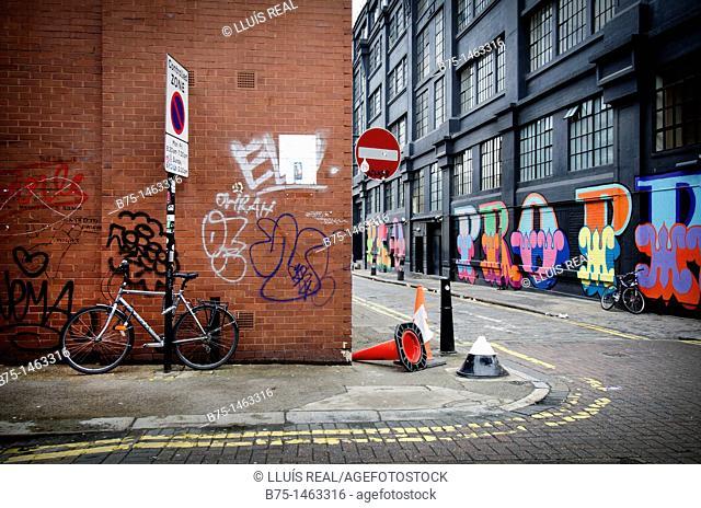 Paisaje urbano, urban, Shoredich, London, England, UK