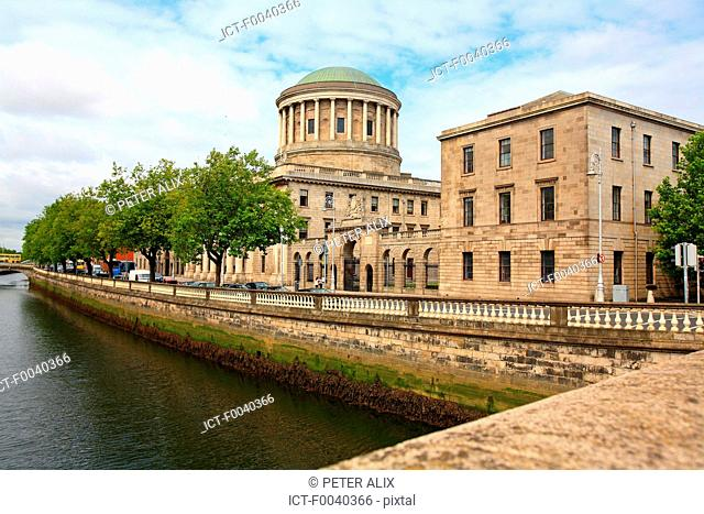 Ireland, Dublin, the four courts