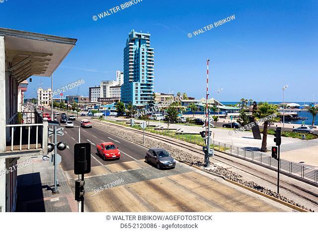 Chile, Antofagasta, harbor and port