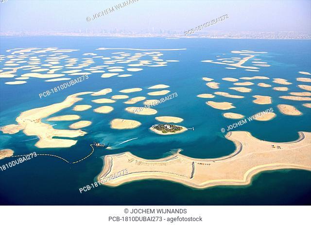 Dubai, the World, manmade islands in the Arabian Gulf