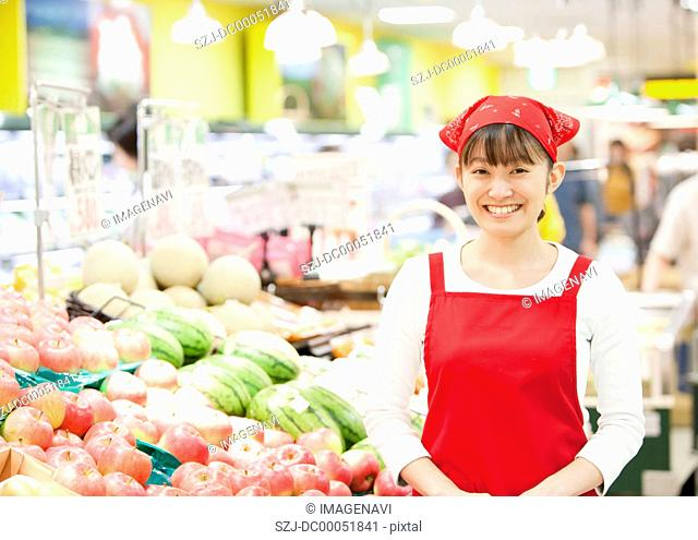 Grocery store staff