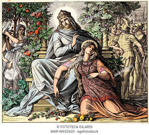 BIBBIA Cantico dei cantici (2,3) -Come un melo tra gli alberi del bosco, così l'amato mio tra i giovani. Alla sua ombra desiderata mi siedo