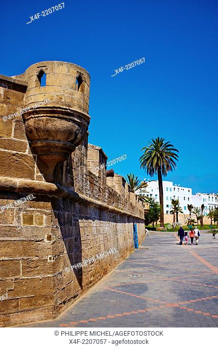 Morocco, Casablanca, old medina, Sqala fortress