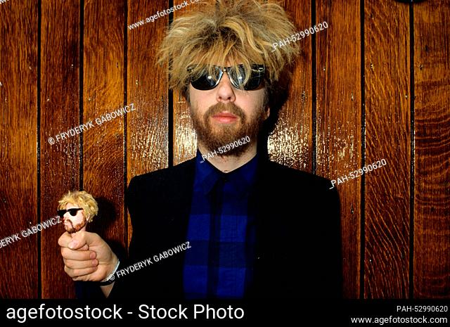 David A. Stewart (Eurythmics) on 03.06.1983 in London. | usage worldwide. - London/United Kingdom of Great Britain and Northern Ireland