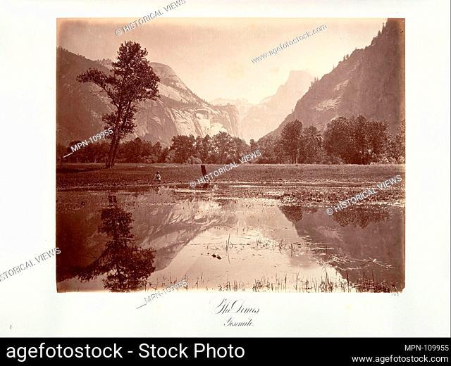 The Domes, Yosemite. Artist: Attributed to Carleton E. Watkins (American, 1829-1916); Date: ca. 1872, printed ca. 1876; Medium: Albumen silver print from glass...