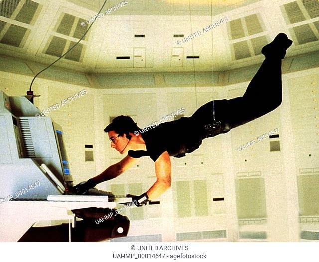 Mission Impossible, (MISSION IMPOSSIBLE) USA 1996, Regie: Brian de Palma, TOM CRUISE, Stichwort: Spion