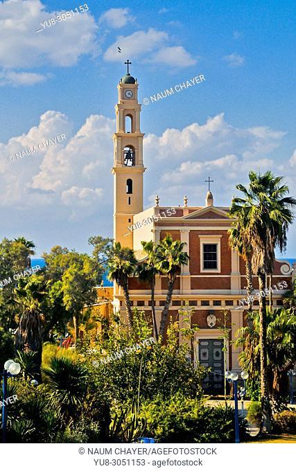 St. Peter's Church facade, Jaffa; Tel Aviv-Yafo, Israel