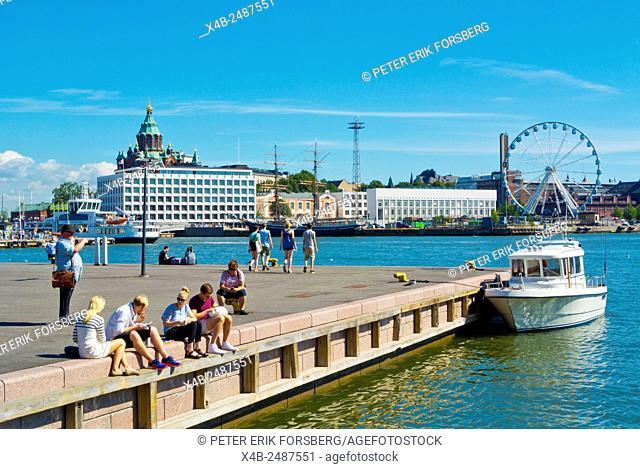 Eteläranta, south bank, central Helsinki, Finland, Europe