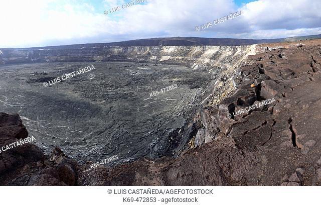 Kilauea Volcano. Volcanoes National Park. Hawaii. USA