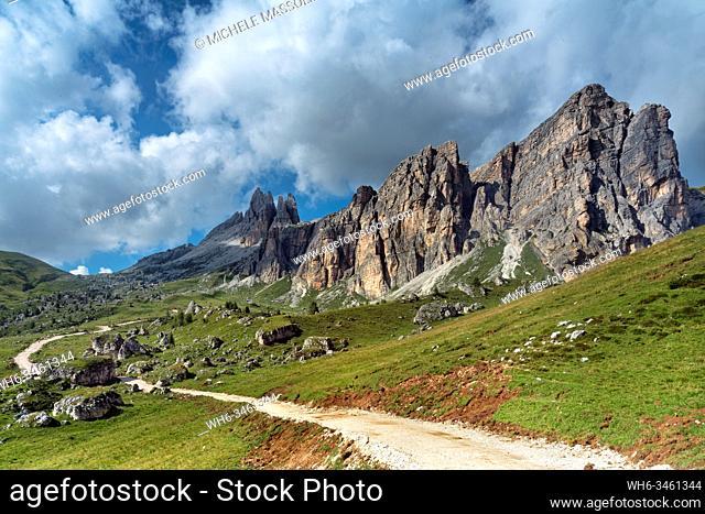 The dolomites of Zoldo, Pelmo mountain