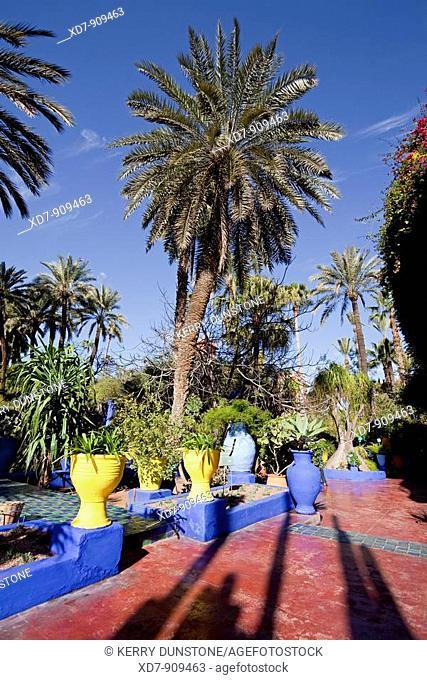 Morocco Marrakesh Majorelle Garden