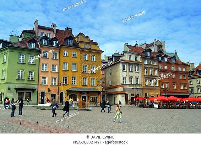Castle Square, Warsaw, Poland