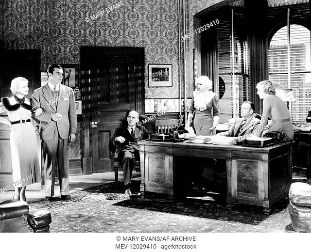 Ida Lupino, Buster Crabbe, James Gleason, Toby Wing, Robert Armstrong & Gertude Michael Characters: Barbara Hilton,Don Jackson (as Larry 'Buster' Crabbe)