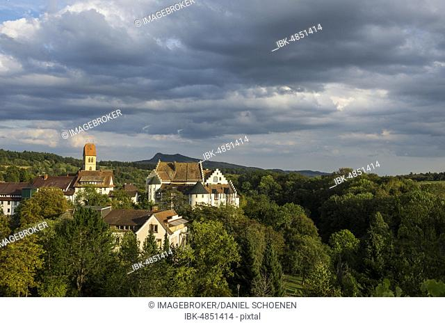 Blumenfeld Castle, Tengen, Constance County, Hegau, Baden-Württemberg, Germany, Europe