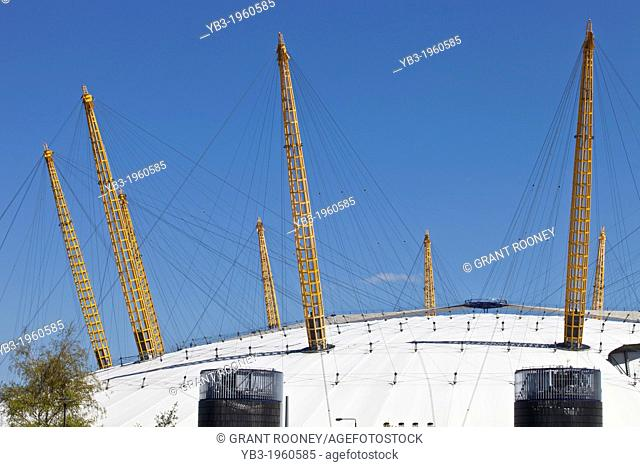 The O2 arena, Greenwich Peninsula, London, England