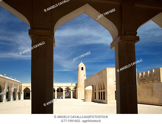 Mosque in old Doha, Qatar