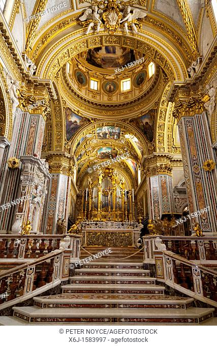 Basilica Cathedral at Monte cassino Abbey