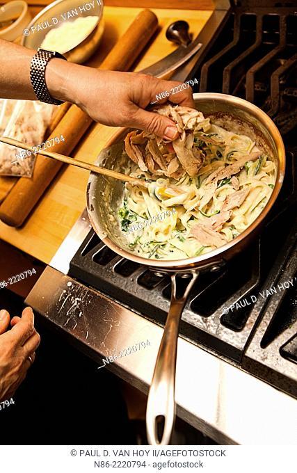 chicken divan casserole preparation