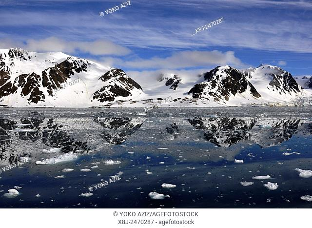 Norway, Svalbard islands, Spitsbergen island
