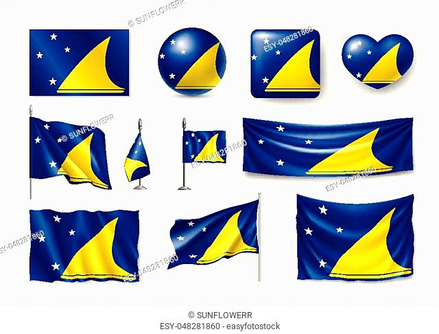 Flag of tokelau Stock Photos and Images   age fotostock