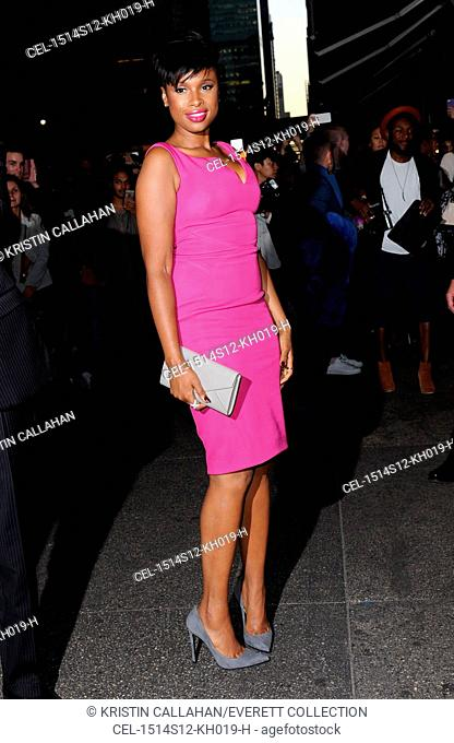 Jennifer Hudson at arrivals for Zac Posen Spring & Summer 2016 Fashion Collection Presentation, Vanderbilt Hall at Grand Central Terminal, New York