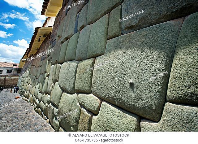 Inca walls  Cuzco  Peru