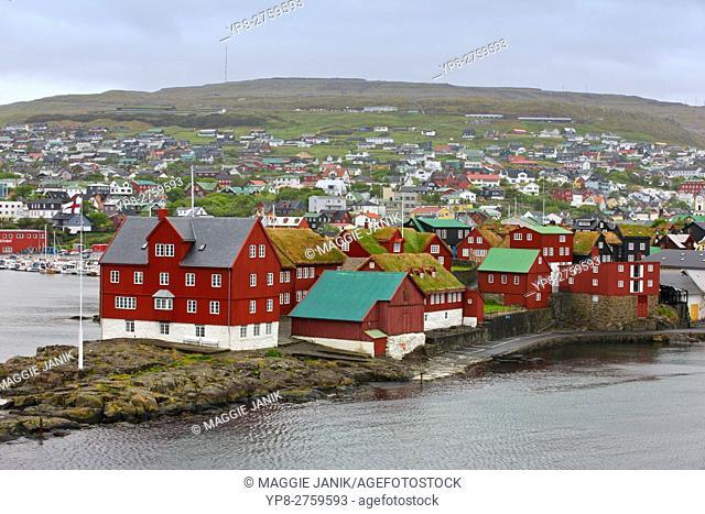 Tinganes, Torshavn, Strymoy Island, Faroe Islands