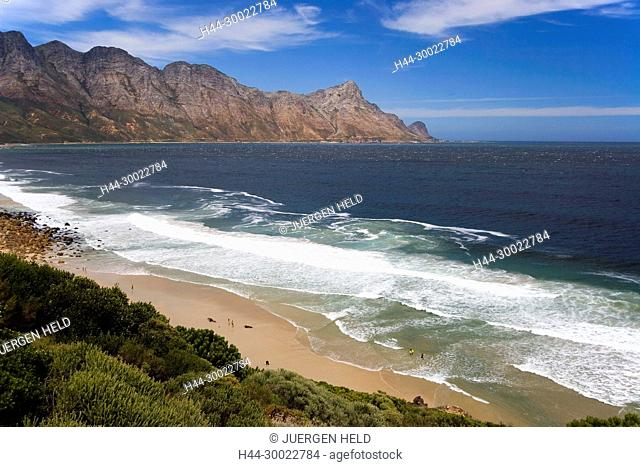 south africa garden route atlantic ocean False bay, sufers beach