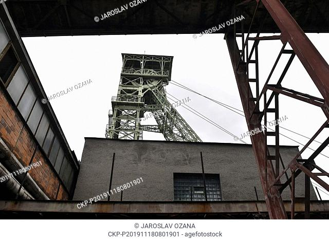 A part of Lazy mine is seen on November 18, 2019, near Karvina, Czech Republic. Czech coal-mining firm OKD has extracted all economically viable black coal...