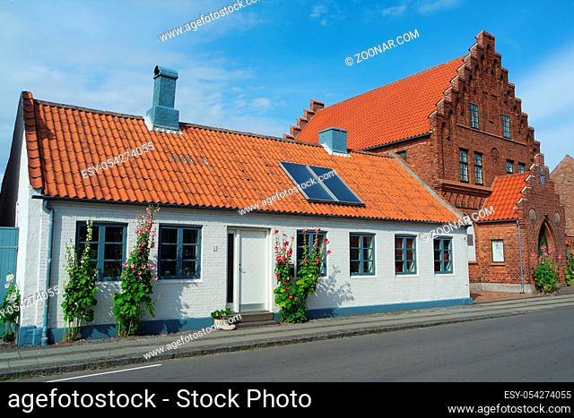 Altstadt in Rönne, Bornholm