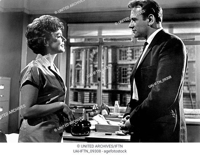 The Day The Earth Caught Fire, aka: Der Tag an dem die Erde Feuer fing, Großbritannien 1961, Regie: Val Guest, Darsteller: Janet Munro, Edward Judd