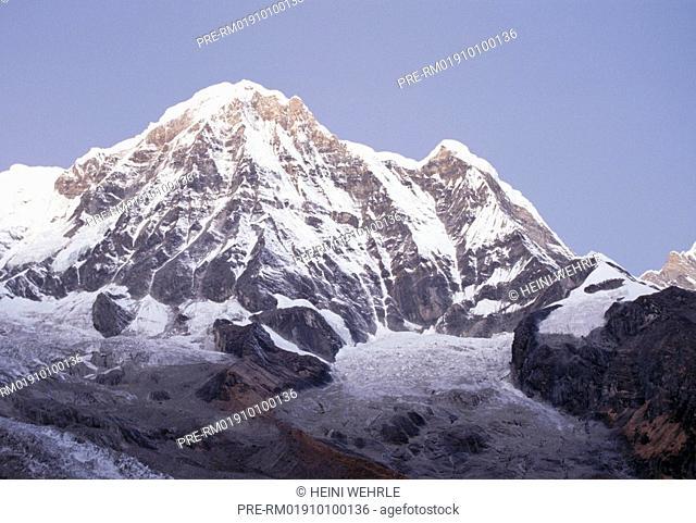 Nepal, Himalaya, Annapurna I, 8091 m