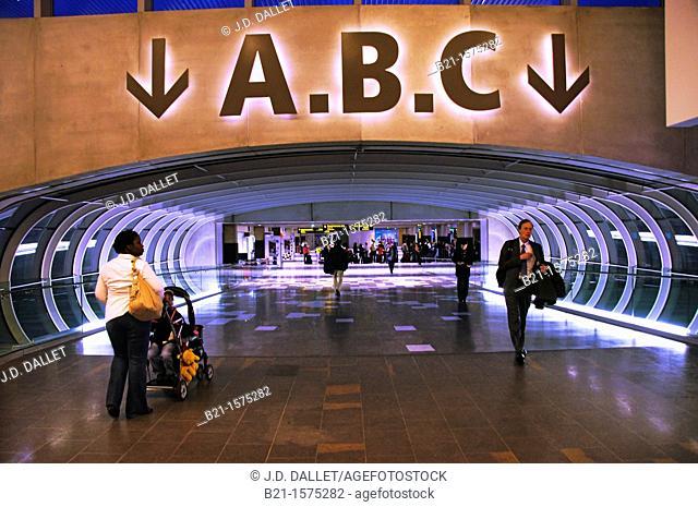 France-Midi Pyrénées- Garonne- Blagnac Airport at Toulouse