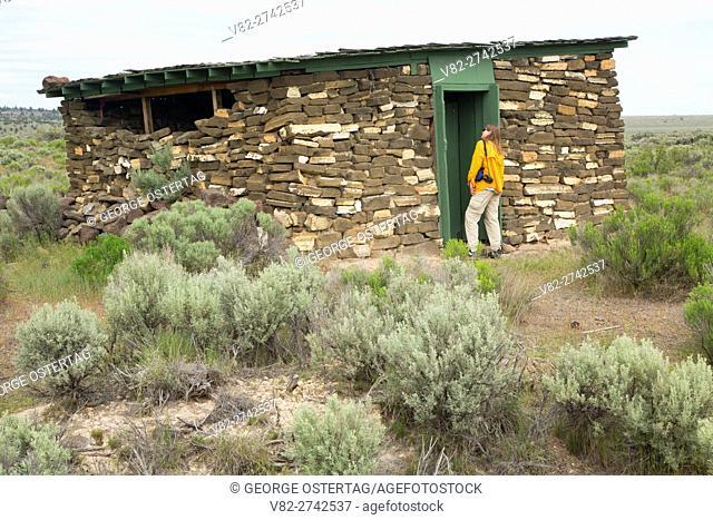 Cold Storage Building, Camp Gap Ranch, Burns District Bureau of Land Management, Oregon