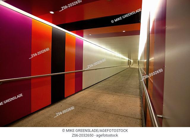 Underpass to the Queensland Art Gallery, Brisbane