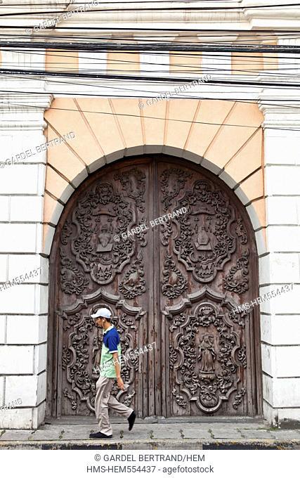 Philippines, Luzon island, Manila, Intramuros historic district