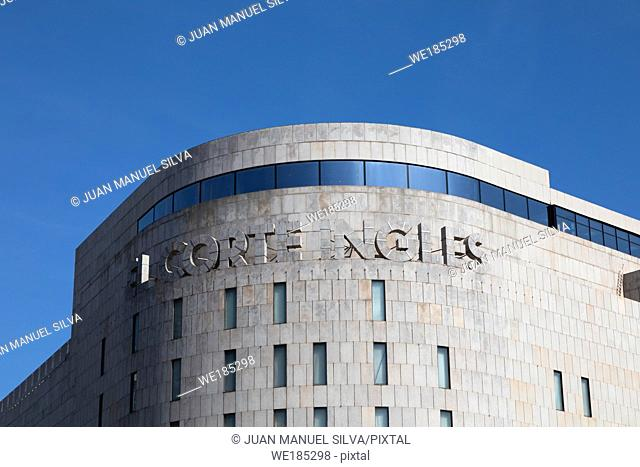 Corte Ingles building, Plaza Catalunya, Barcelona, Spain