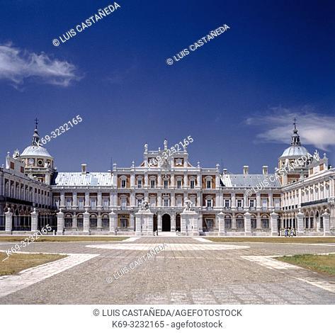 The Royal Palace of Aranjuez. Spain