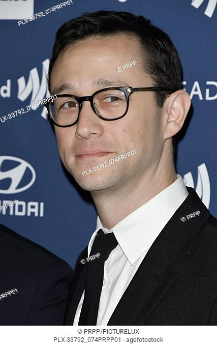 Joseph Gordon-Levitt at the 30th Annual GLAAD Media Awards held at the Beverly Hilton Hotel in Beverly Hills, CA on Thursday, March 28, 2019