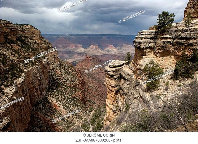 Scenic view of Grand Canyon, Arizona, USA