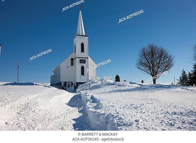 Anglican church, Irishtown, Prince Edward Island, Canada