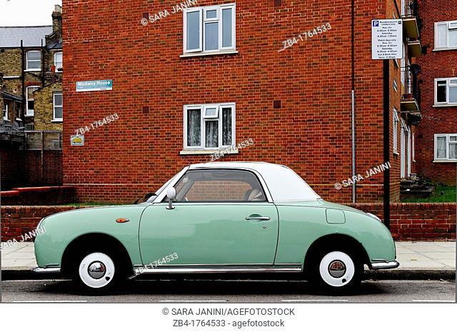 Classic car, Stoke Newington, London, England, UK, Europe